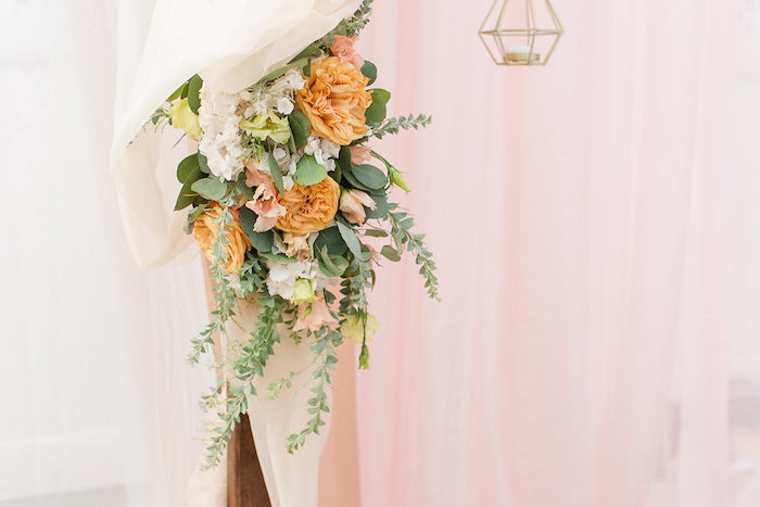 Florals from an Elegant Backyard Wedding on Kara's Party Ideas | KarasPartyIdeas.com (6)