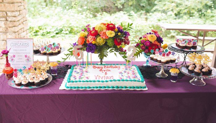 Dessert table from an Elena of Avalor Inspired Birthday Fiesta on Kara's Party Ideas | KarasPartyIdeas.com (18)