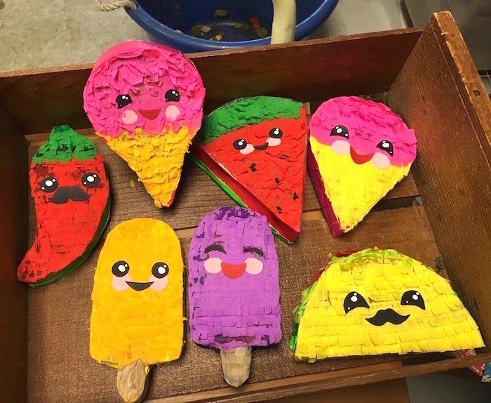 Mini pinata boxes from an Elena of Avalor Inspired Birthday Fiesta on Kara's Party Ideas | KarasPartyIdeas.com (33)