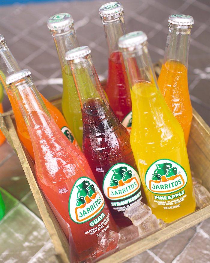 Mexican drinks from an Elena of Avalor Inspired Birthday Fiesta on Kara's Party Ideas | KarasPartyIdeas.com (26)