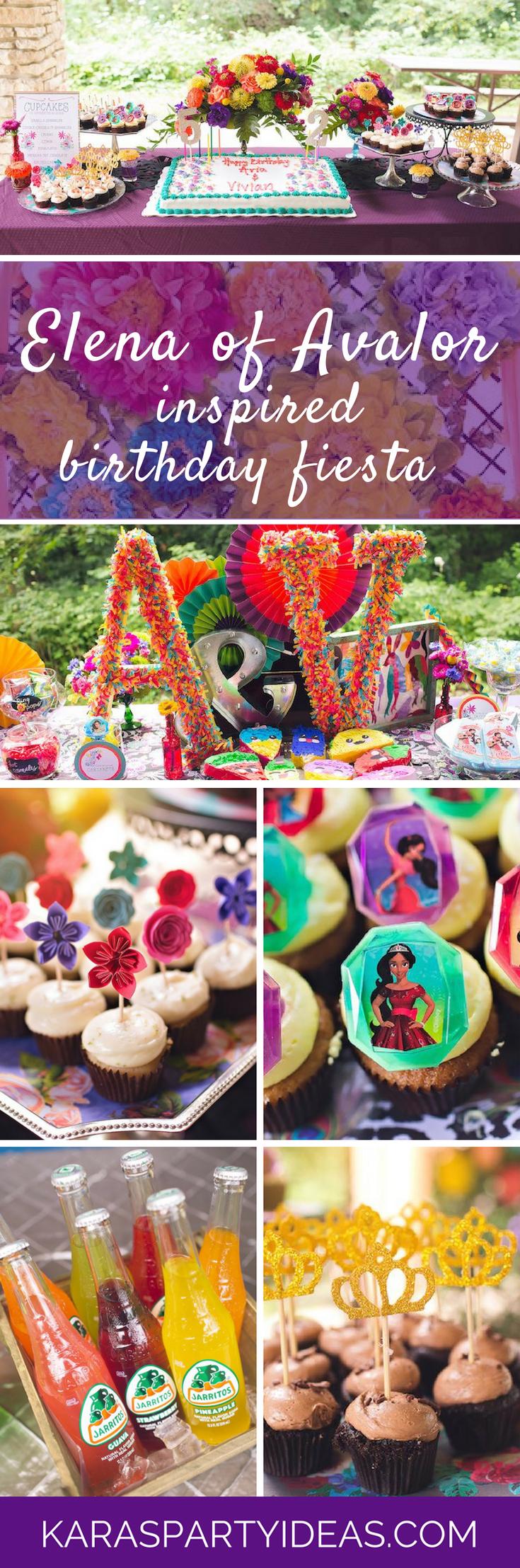 Elena of Avalor Inspired Birthday Fiesta via Kara's Party Ideas - KarasPartyIdeas.com