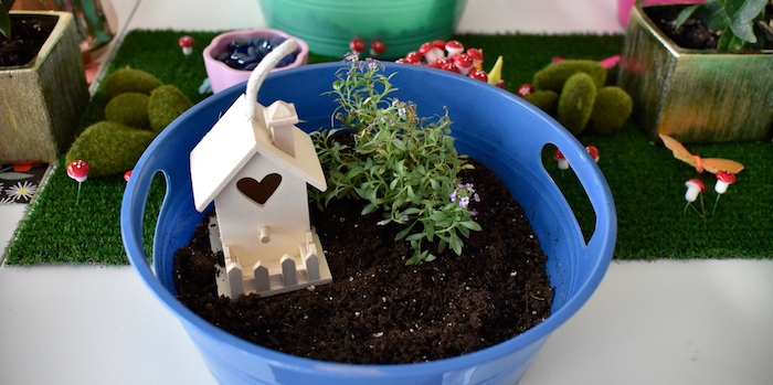 Fairy Garden Craft Party on Kara's Party Ideas | KarasPartyIdeas.com (1)