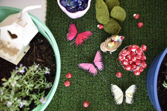 Decor from a Fairy Garden Craft Party on Kara's Party Ideas | KarasPartyIdeas.com (16)