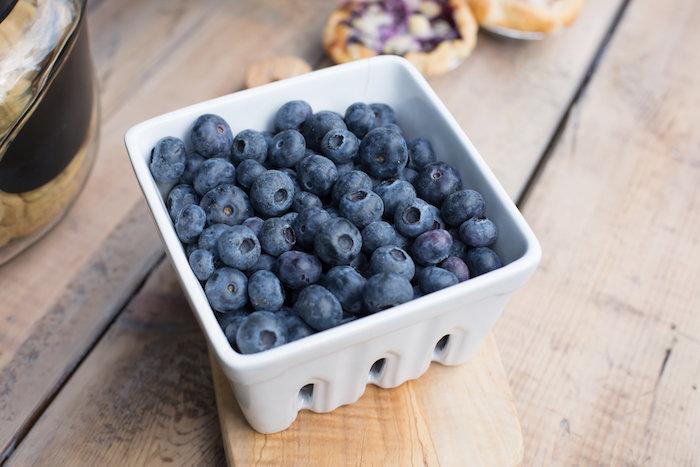 Fresh blueberries from a Farmers' Market Baby Shower on Kara's Party Ideas | KarasPartyIdeas.com (11)