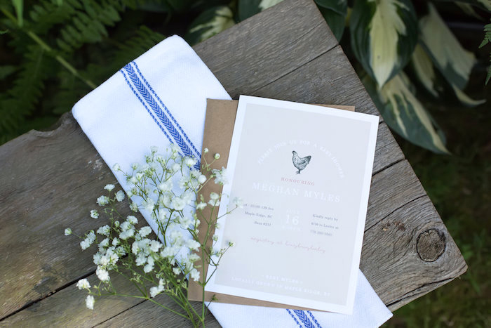 Invitation from a Farmers' Market Baby Shower on Kara's Party Ideas | KarasPartyIdeas.com (7)