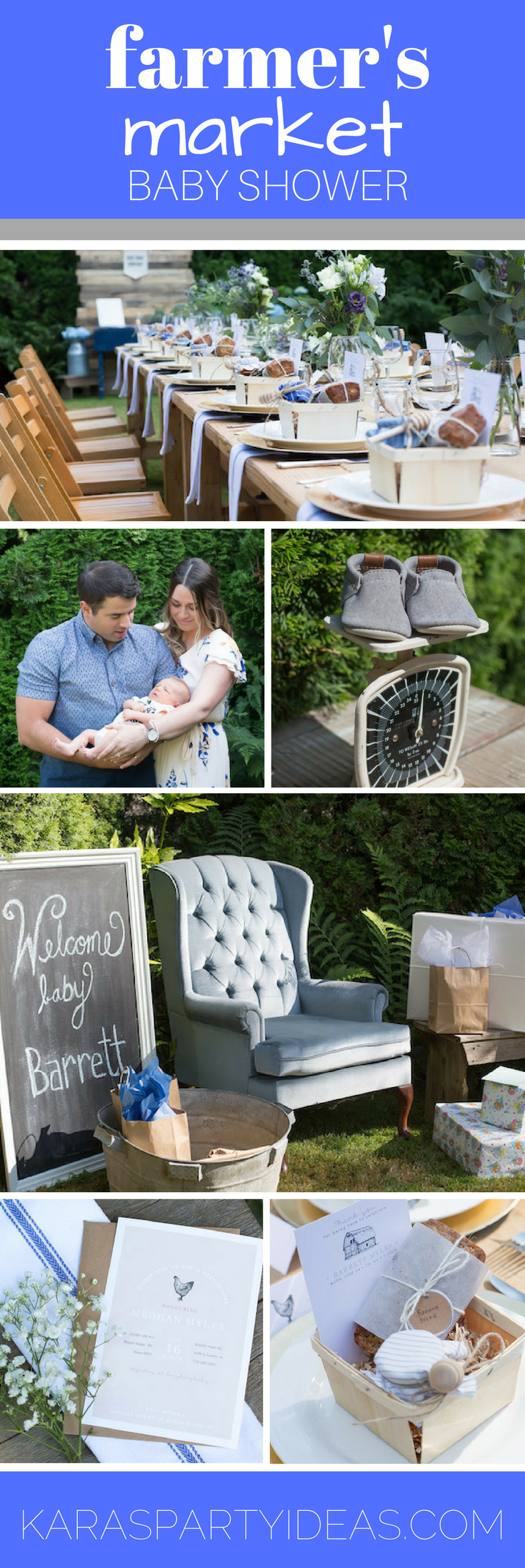 Merveilleux Farmeru0027s Market Baby Shower Via Karau0027s Party Ideas