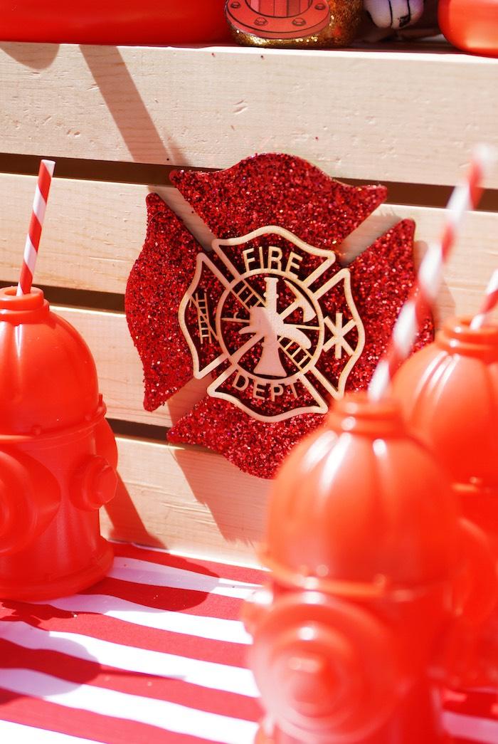 Fireman Seal from a Fireman Birthday Party on Kara's Party Ideas | KarasPartyIdeas.com (12)