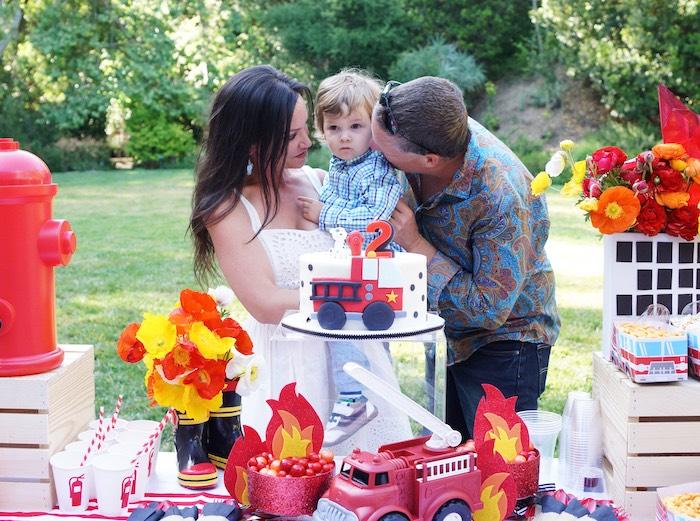 Fireman Birthday Party on Kara's Party Ideas | KarasPartyIdeas.com (4)