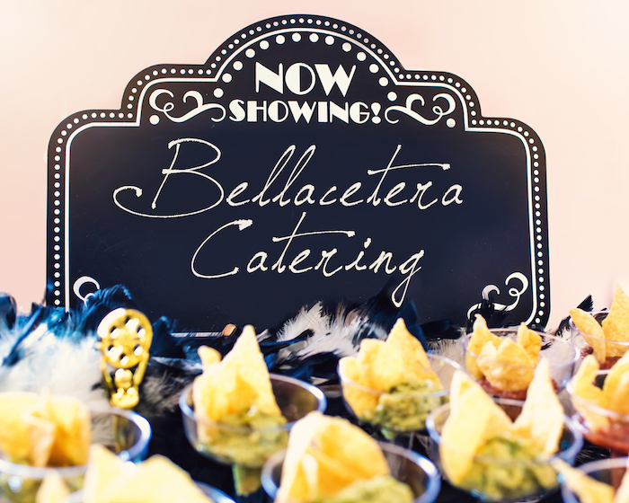 Now Showing Signage from a Glam Hollywood Birthday Party on Kara's Party Ideas | KarasPartyIdeas.com (8)
