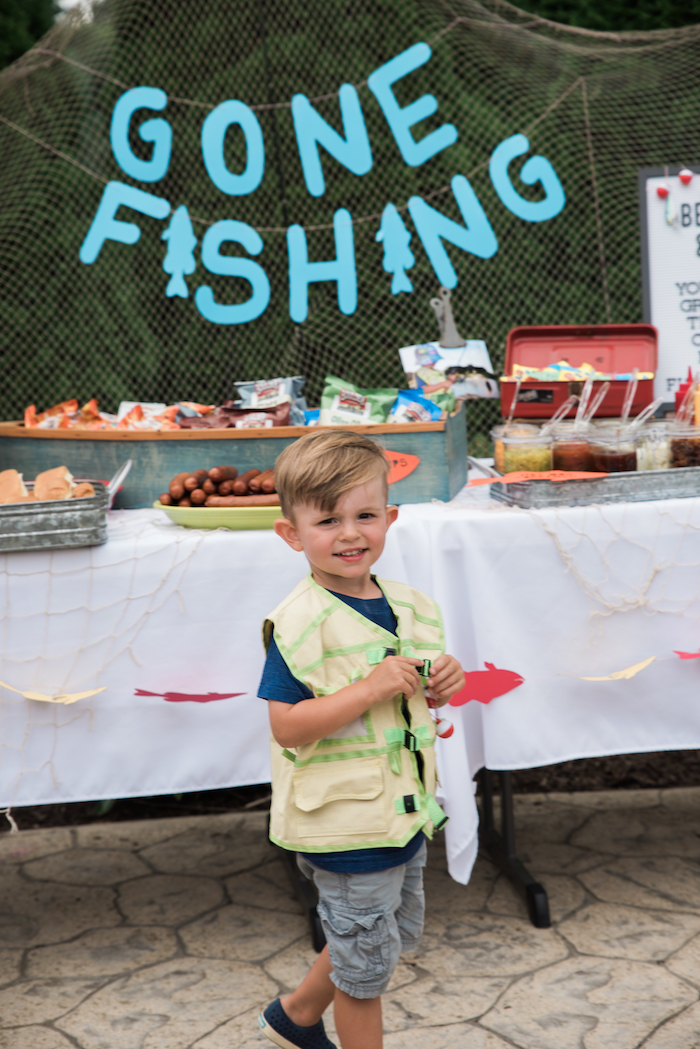 Gone Fishing Birthday Party on Kara's Party Ideas | KarasPartyIdeas.com (10)
