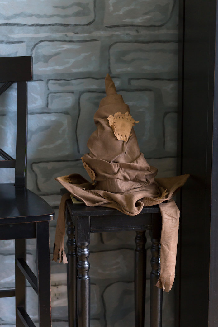 Sorting Hat from a Happening Harry Potter Birthday Party on Kara's Party Ideas | KarasPartyIdeas.com (22)
