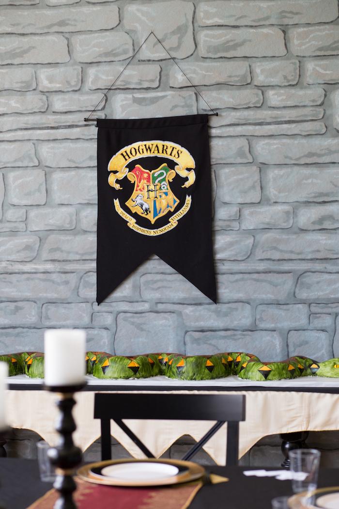 Nagini snake cake from a Happening Harry Potter Birthday Party on Kara's Party Ideas | KarasPartyIdeas.com (21)