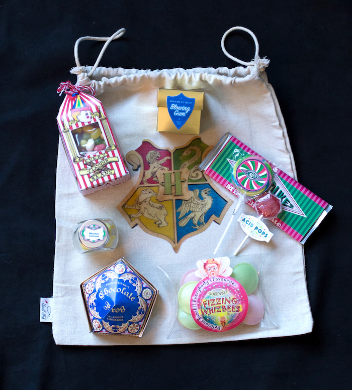 Candy favors from a Happening Harry Potter Birthday Party on Kara's Party Ideas | KarasPartyIdeas.com (12)
