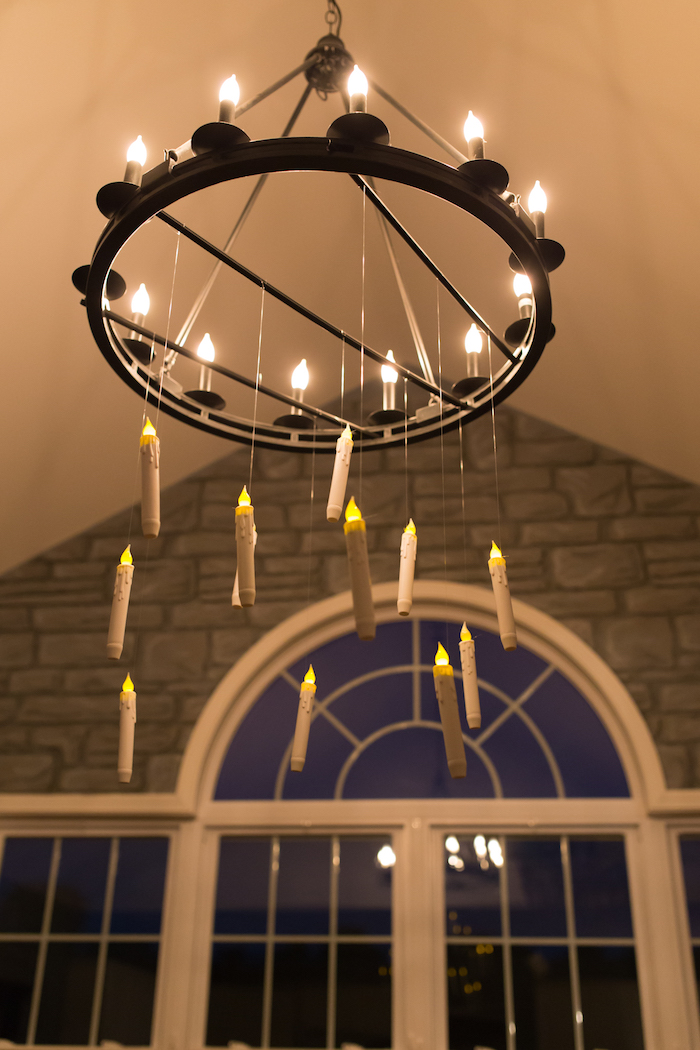 Floating candle lantern from a Happening Harry Potter Birthday Party on Kara's Party Ideas | KarasPartyIdeas.com (33)