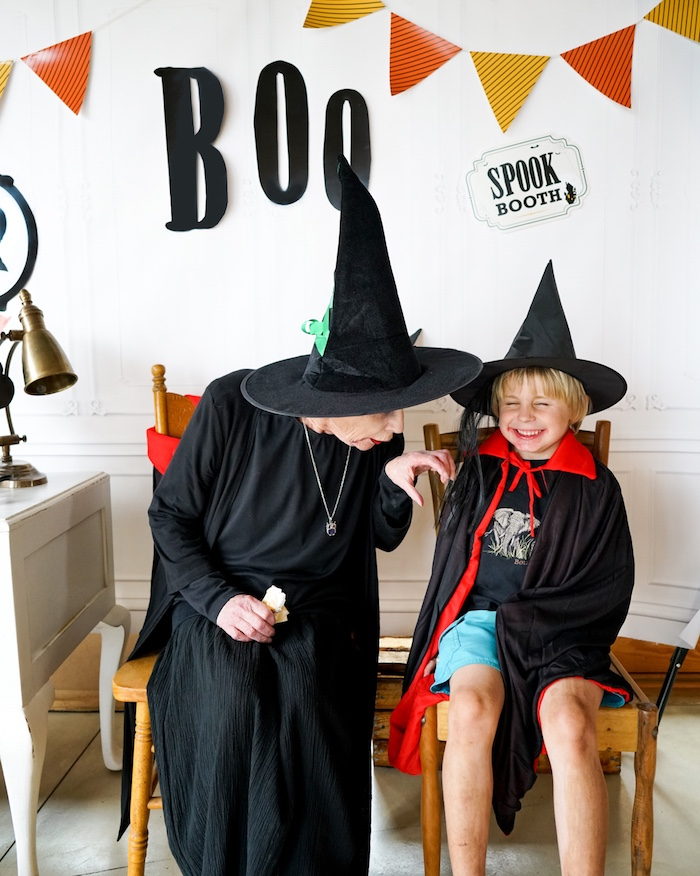Modern Haunted House Halloween Party on Kara's Party Ideas | KarasPartyIdeas.com (14)