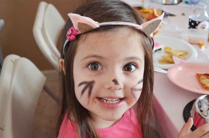 Kitty Cat Birthday Party on Kara's Party Ideas | KarasPartyIdeas.com (10)