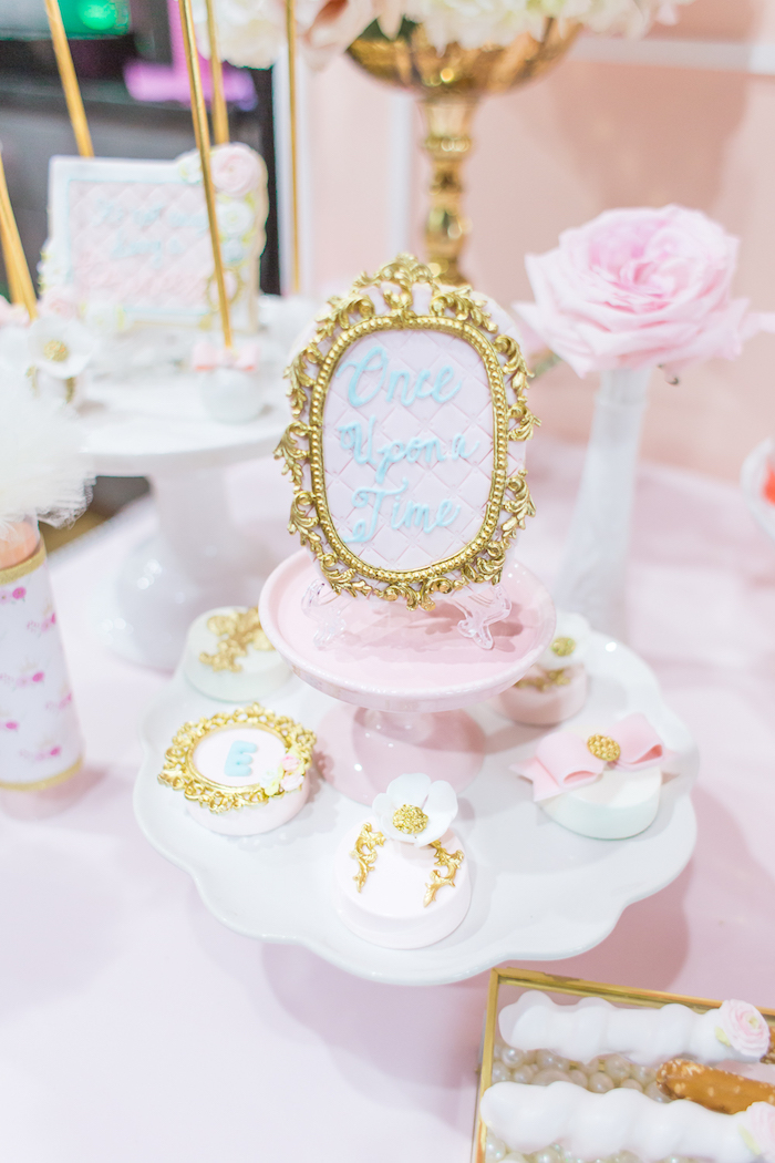 Once Upon a Time Cookie and covered Oreos from a Magical Princess Birthday Party on Kara's Party Ideas | KarasPartyIdeas.com (19)