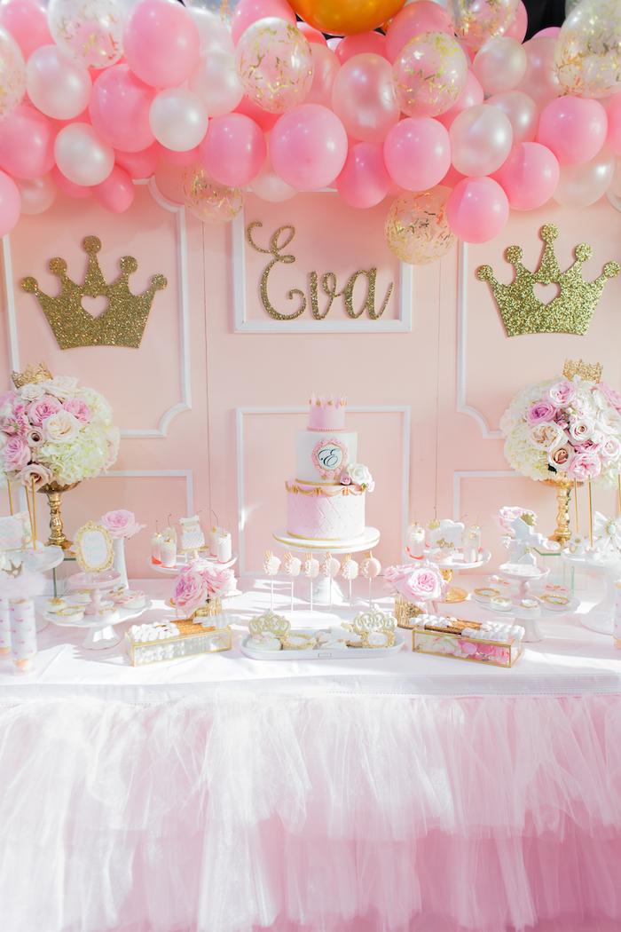 Kara 39 s party ideas magical princess birthday party kara for Princess birthday party crafts