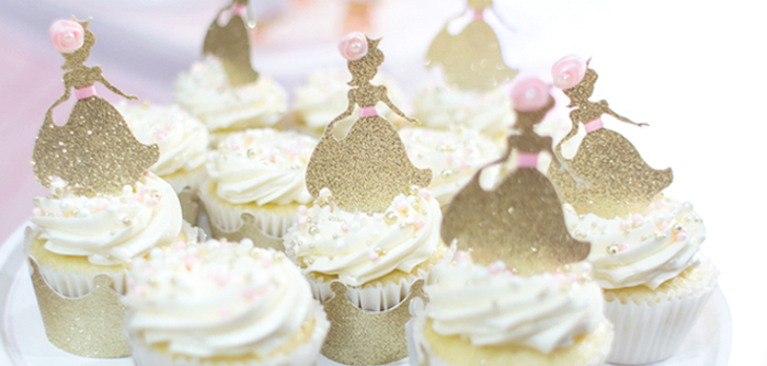 Magical Princess Birthday Party on Kara's Party Ideas | KarasPartyIdeas.com (3)
