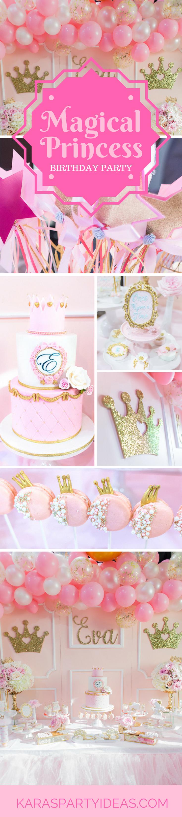 magical princess party via Kara's Party Ideas