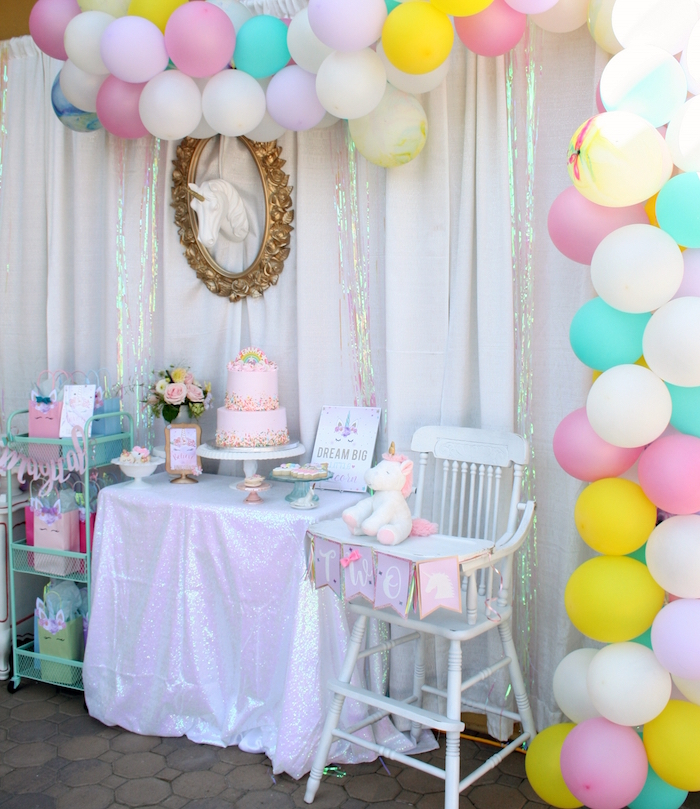 Magical Unicorn Birthday Party on Kara's Party Ideas   KarasPartyIdeas.com (7)