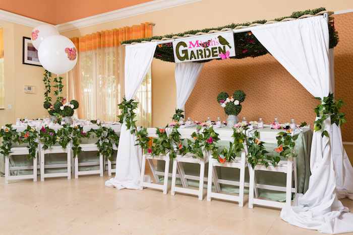 Minnie Mouse Inspired Butterfly Garden Party on Kara's Party Ideas | KarasPartyIdeas.com (25)