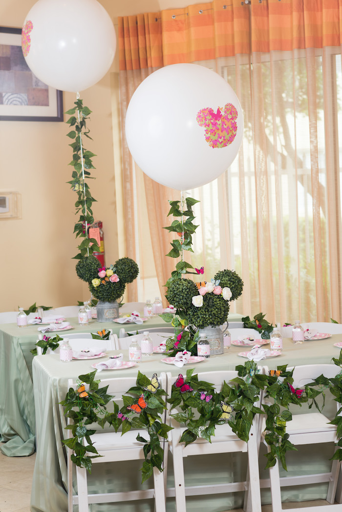 Minnie Mouse Inspired Butterfly Garden Party on Kara's Party Ideas | KarasPartyIdeas.com (24)