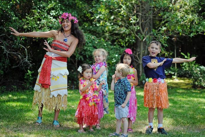 Moana Hawaiian Luau Birthday Party on Kara's Party Ideas | KarasPartyIdeas.com (9)