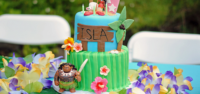 Moana Hawaiian Luau Birthday Party on Kara's Party Ideas | KarasPartyIdeas.com (2)
