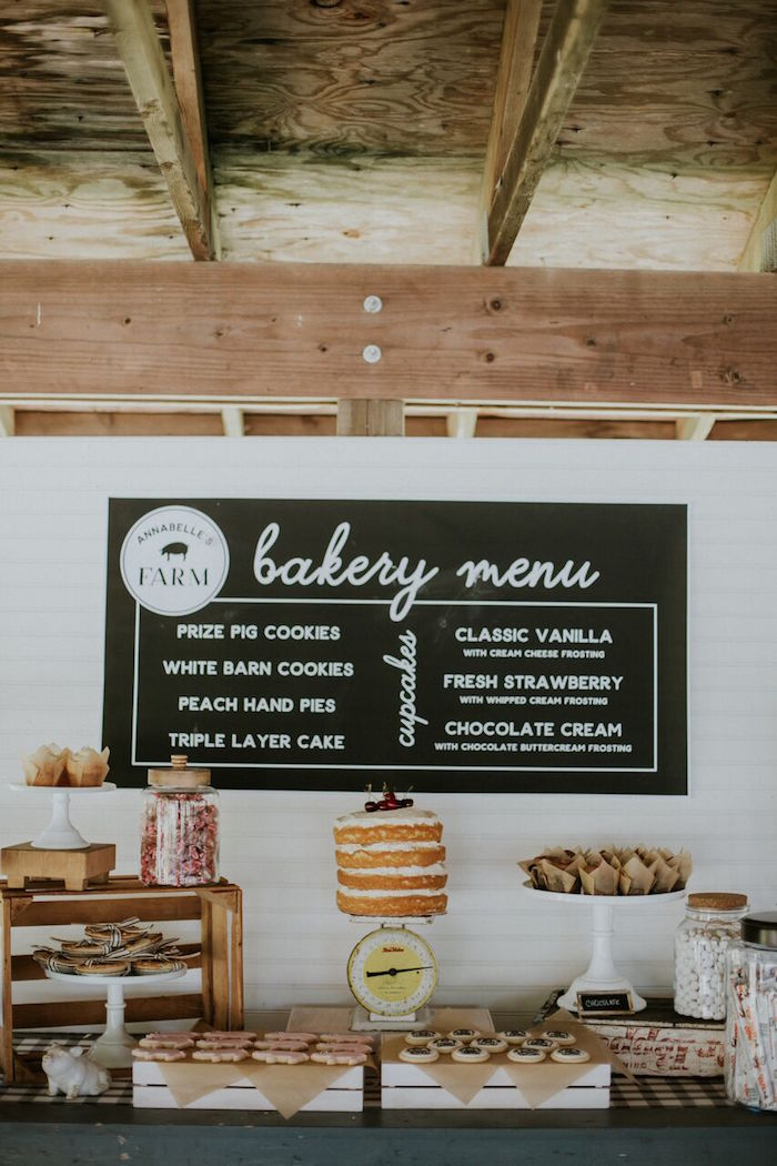 Modern Vintage Farm-to-Table Birthday Party on Kara's Party Ideas | KarasPartyIdeas.com (36)