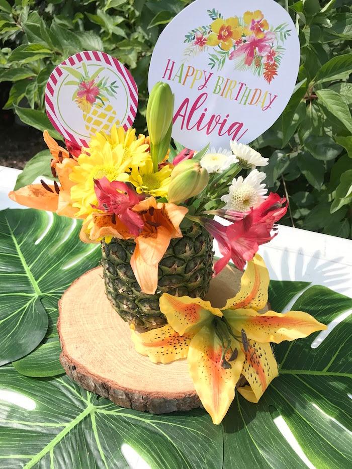 Kara s party ideas like a pineapple birthday