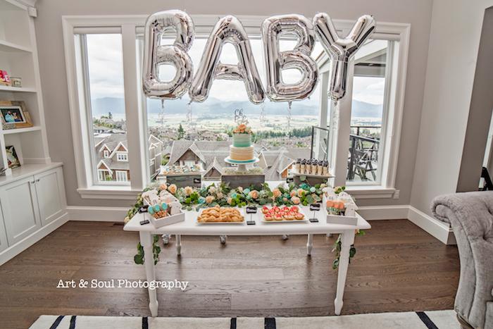 Pastel Gender Neutral Baby Shower on Kara's Party Ideas | KarasPartyIdeas.com (20)