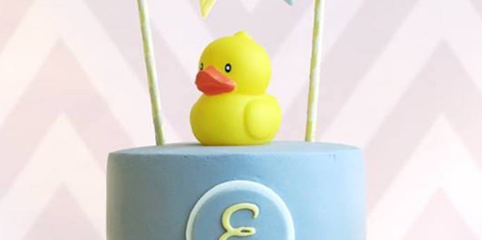 Rubber Duck Birthday Party on Kara's Party Ideas | KarasPartyIdeas.com (2)