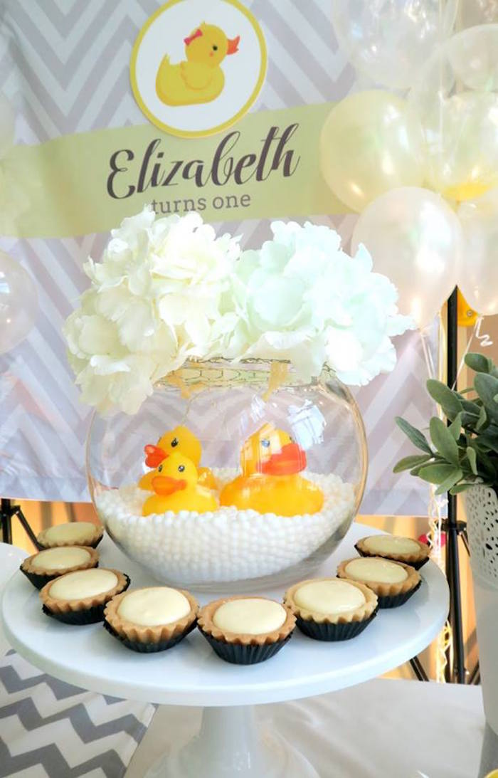 Kara S Party Ideas Rubber Duck Birthday Party Kara S