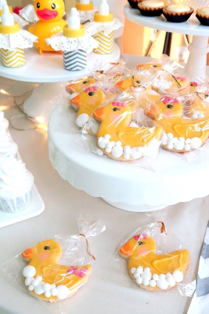 Kara S Party Ideas Rubber Duck Birthday Party Kara S