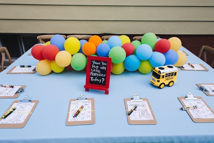 Rustic Sesame Street Birthday Party on Kara's Party Ideas   KarasPartyIdeas.com (20)