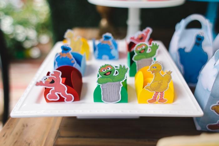 Rustic Sesame Street Birthday Party on Kara's Party Ideas   KarasPartyIdeas.com (16)