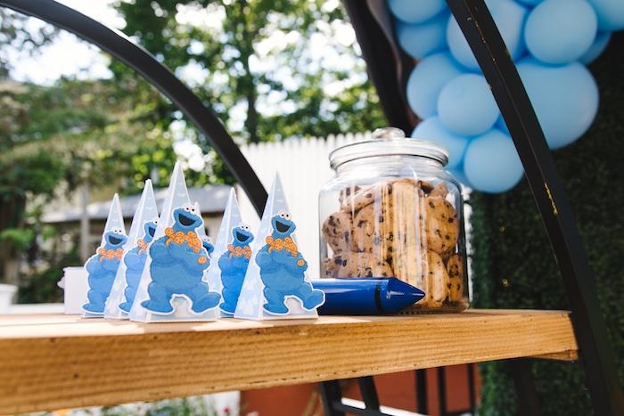 Rustic Sesame Street Birthday Party on Kara's Party Ideas   KarasPartyIdeas.com (33)