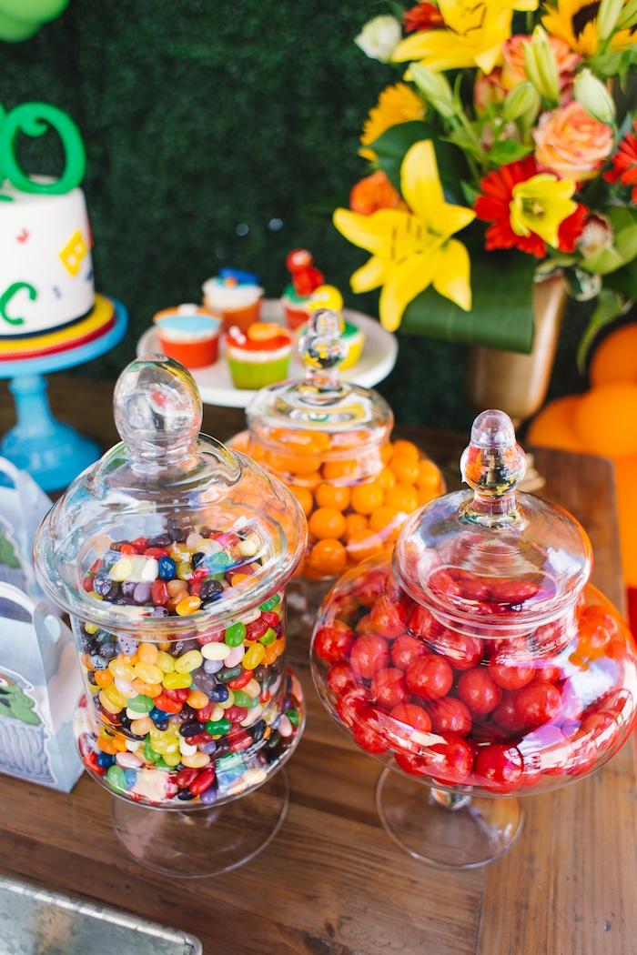 Rustic Sesame Street Birthday Party on Kara's Party Ideas   KarasPartyIdeas.com (13)