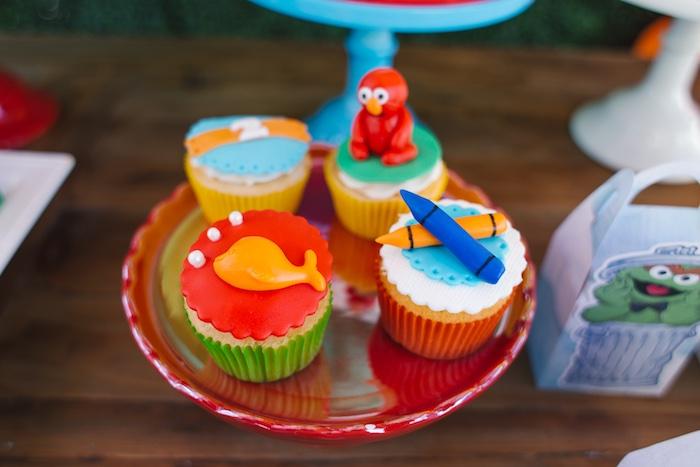 Rustic Sesame Street Birthday Party on Kara's Party Ideas   KarasPartyIdeas.com (12)