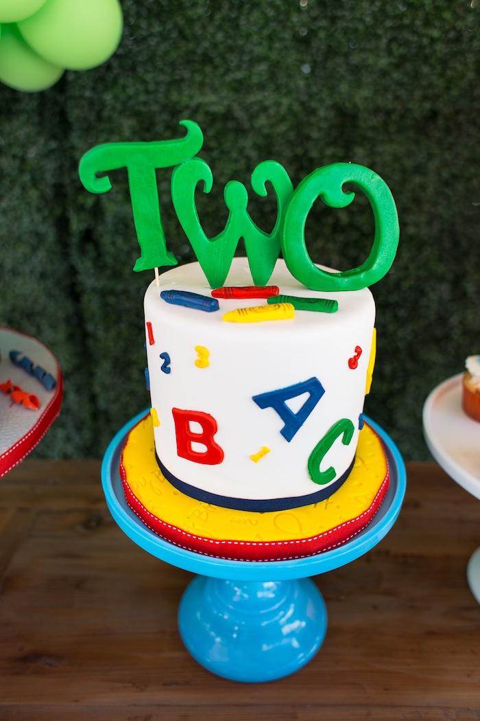Rustic Sesame Street Birthday Party on Kara's Party Ideas   KarasPartyIdeas.com (10)