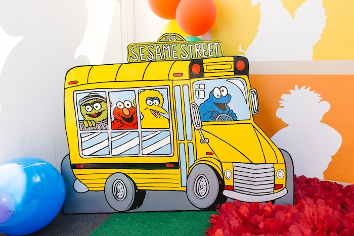 Rustic Sesame Street Birthday Party on Kara's Party Ideas   KarasPartyIdeas.com (8)