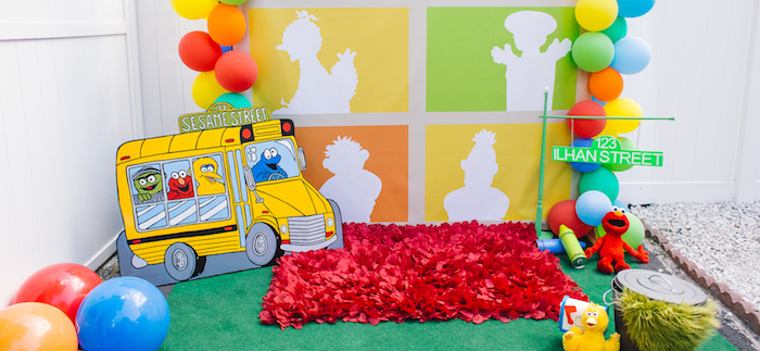 Rustic Sesame Street Birthday Party on Kara's Party Ideas | KarasPartyIdeas.com (3)