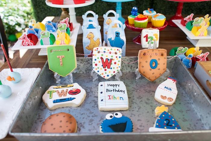 Rustic Sesame Street Birthday Party on Kara's Party Ideas   KarasPartyIdeas.com (29)