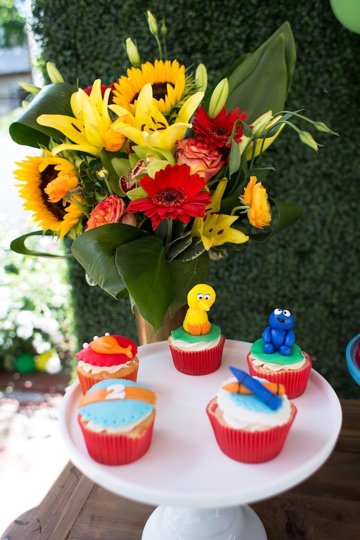 Rustic Sesame Street Birthday Party on Kara's Party Ideas   KarasPartyIdeas.com (27)