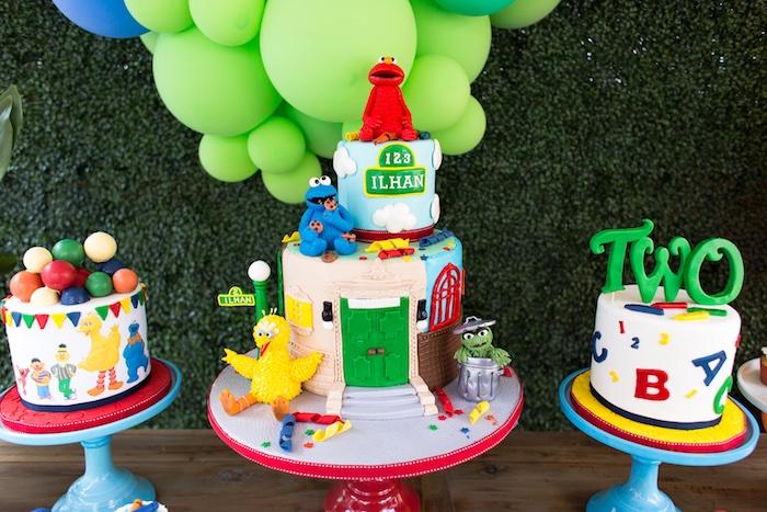 Rustic Sesame Street Birthday Party on Kara's Party Ideas   KarasPartyIdeas.com (25)