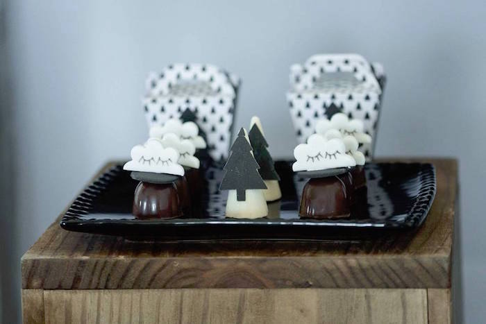 Truffles from a Rustic Wild One Birthday Party on Kara's Party Ideas | KarasPartyIdeas.com (14)