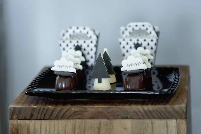 Truffles from a Rustic Wild One Birthday Party on Kara's Party Ideas | KarasPartyIdeas.com (14)