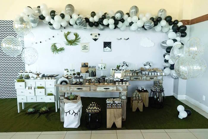Rustic Wild One Birthday Party on Kara's Party Ideas | KarasPartyIdeas.com (27)