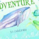 Under the Sea Birthday Pool Party on Kara's Party Ideas   KarasPartyIdeas.com (1)